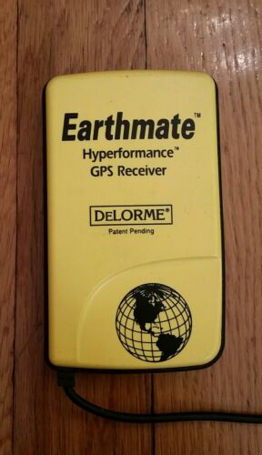 Earthmate Hyperformance GPS Receiver DeLORME Serial Port