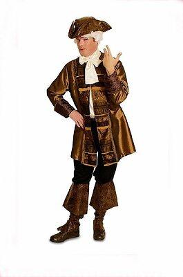 Pirat Gehrock Barock Rokoko Kostüm Piratenkostüm 2 teilig 50 -52 Karneval