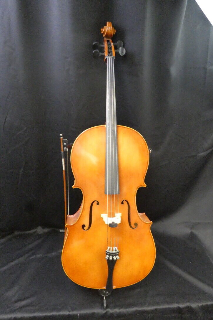Hermann Beyer E220 4/4 Cello W/ Bow And Stand - $343.00