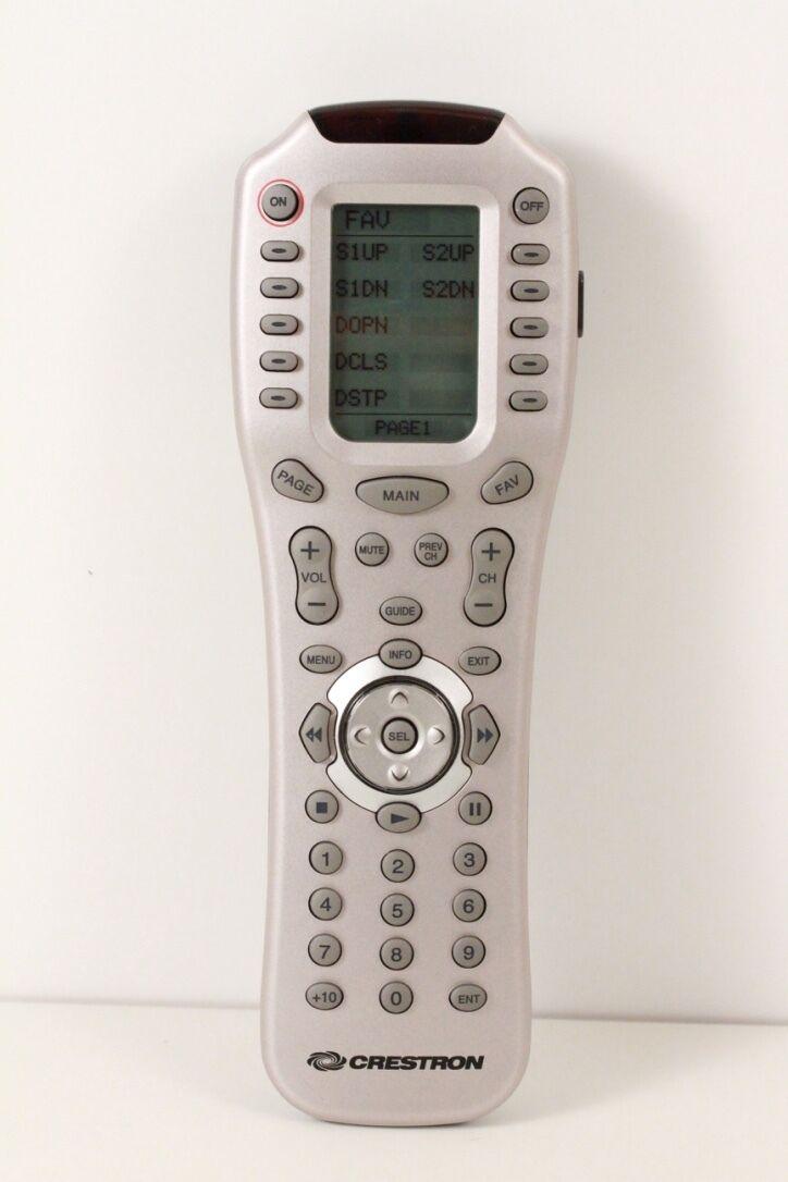 Beautiful Crestron ML-600 IR/ RF Handheld Remote -Guaranteed To Work
