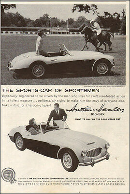 1959 Classic British Sports Car AD AUSTIN HEALEY 100-six,  BMC Ltd  060517