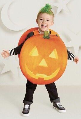 Toddler Pumpkin Halloween Costume Jack O Lantern One Size Over the Shoulder New - Pumpkin Halloween Costume Toddler