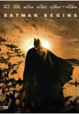 Batman Begins (DVD) New (2006) Christian Bale New & Sealed