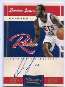 2010-11-CLASSICS-148-DAMION-JAMES-AUTO-ROOKIE-RC-400-699-NEW-JERSEY-NETS