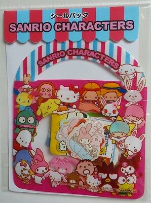 Sanrio Characters Original Sticker Sack Pack kawaii stickers flakes Japan