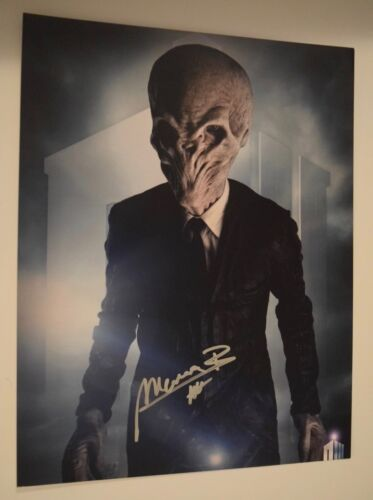 Marnix Van den Broeke Signed Autographed 11x14 Photo DOCTOR WHO COA VD