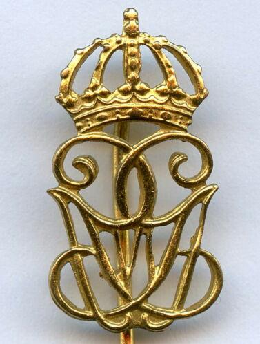 Sweden Vintage Royal Guards King Gustaf VI Pin Badge Nice Grade !!!
