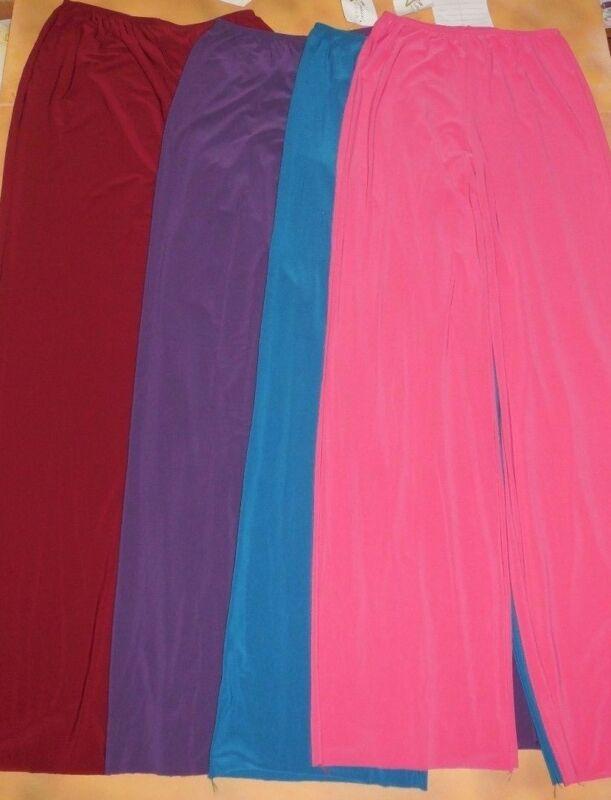Dance WIDE LEG PRAISE WEAR PANTS Spandex 4 Color Choices Ladies Sizes 74066