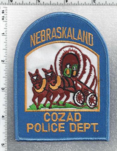 Cozad Police (Nebraska) 3rd Issue Shoulder Patch