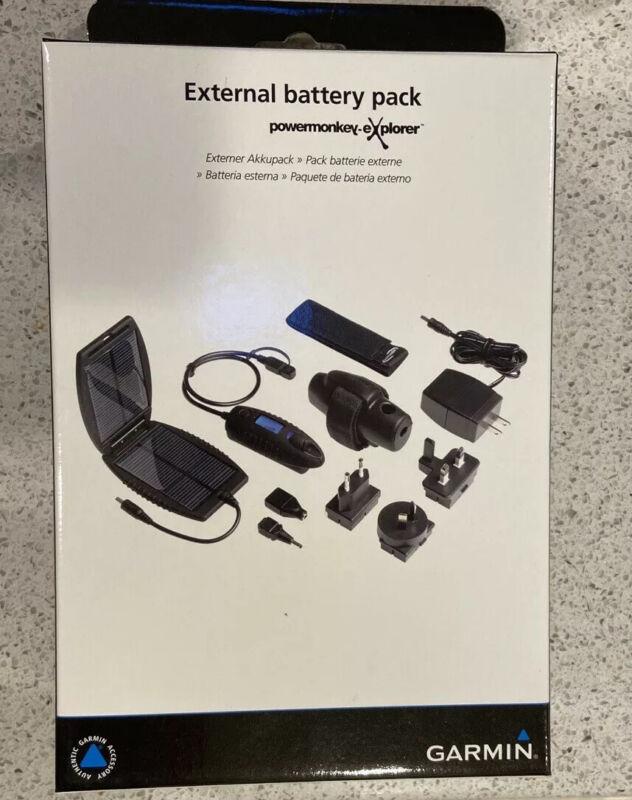 Rare Garmin Explorer External Solar Battery Power Pack Edge Forerunner 1030 830