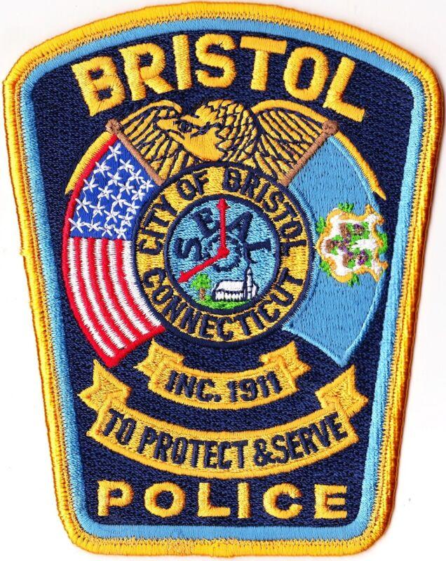 Bristol Police Patch Connecticut CT
