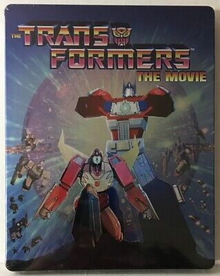 Transformers The Movie - Steelbook Limited (Bluray, 1986) Like New See Pictures!