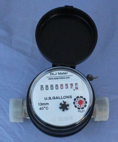 "Single jet DLJSJ50 1/2"" Compact Water Meter"
