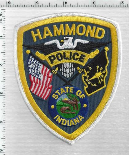 Hammond Police (Indiana) 4th Issue Shoulder Patch