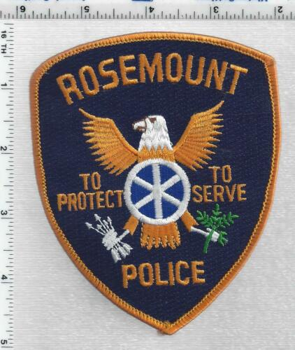 Rosemount Police (Minnesota) 3rd Issue Shoulder Patch