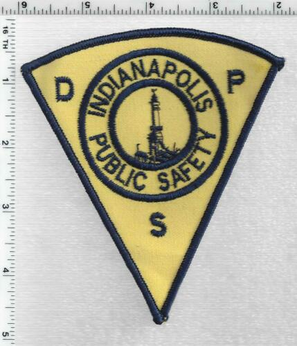 Indianapolis Public Safety (Indiana) 1st Issue Shoulder Patch