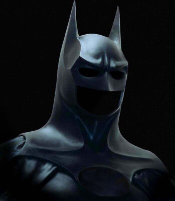 Your Batman Cowl/ Costume Mask & Suit can use High Quality Latex upgrade Returns (Batman Suit)