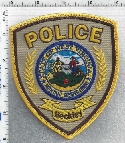 Beckley Police (West Virginia) 4th Issue Shoulder Patch