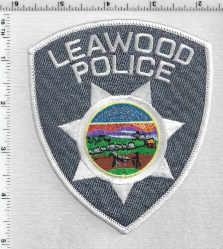 Leawood Police (Kansas) 3rd Issue Shoulder Patch