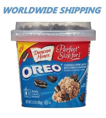 - Duncan Hines Perfect Size for 1 Oreo Chocolate Chip Cake Mix WORLD SHIP