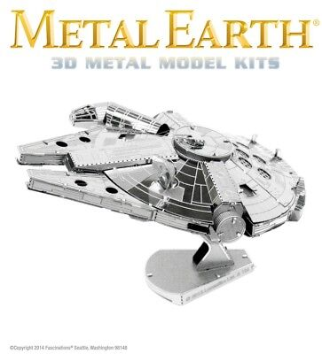 Fascinations Metal Earth Star Wars Millennium Falcon Laser Cut 3D Model