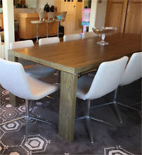 Space furniture Zanotta Fratino ebony dining table Woollahra Eastern Suburbs Preview