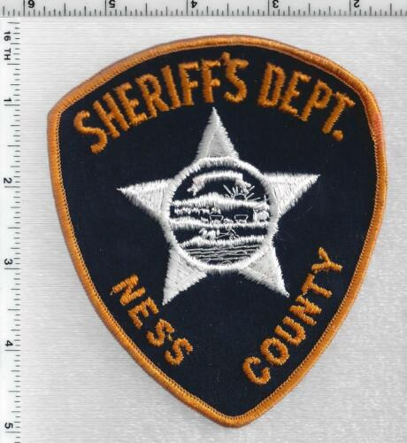 Ness County Sheriff (Kansas) 1st Issue Shoulder Patch