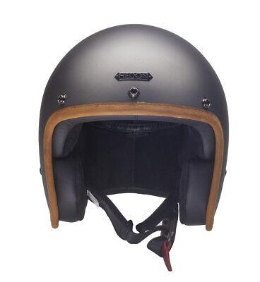 Hedon Hedonist Ash Matt (Grau) Jethelm Helm Alle Größen Ash Helm