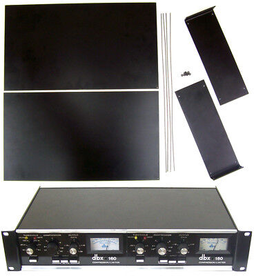 New Dual Rack Mount Kit for dbx 160, 161. 162, 165, 165A limiters. DY for sale  Shipping to India