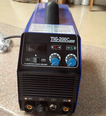 Tigmma Dc Inverter Stainless 200a Tic-200 Welder 220v Arc Welding Machine New