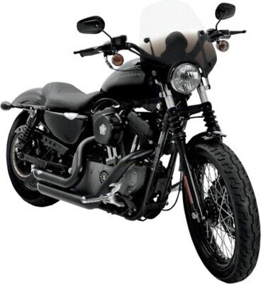 Memphis Shades Del Ray Black Sport Windshield for Harley Dyna Sportster (Del Ray Sunglasses)