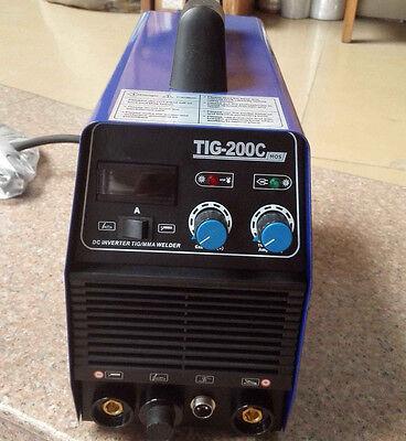Tig Mma Welding Machine Stainless Carbon Steel Welder 110 Accessories New