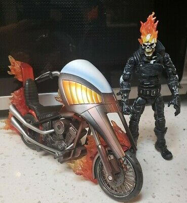 Marvel Legends Toybiz Series VII 7 Ghost Rider Action Figure w/ Motorcycle