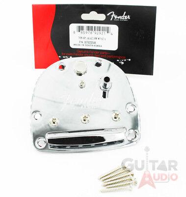 Fender Jaguar Tremolo (Genuine Fender Classic Player Jazzmaster/Jaguar Tremolo Tailpiece with Screws )
