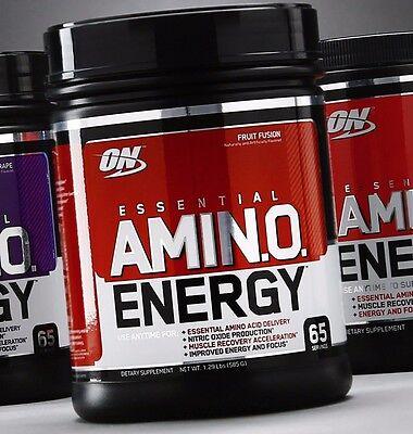 Optimum Nutrition On Amino Energy 65 Servings Bcaas Essential Amino Acids