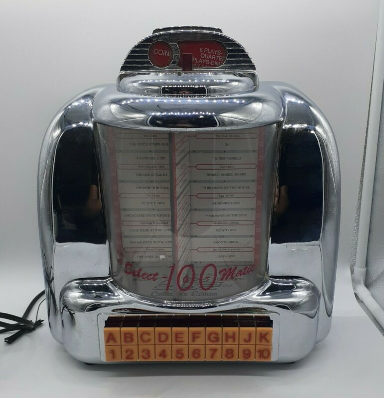 Crosley Select O Matic 100 Jukebox Radio Cassette Player Spirit Of St. Louis Ed.