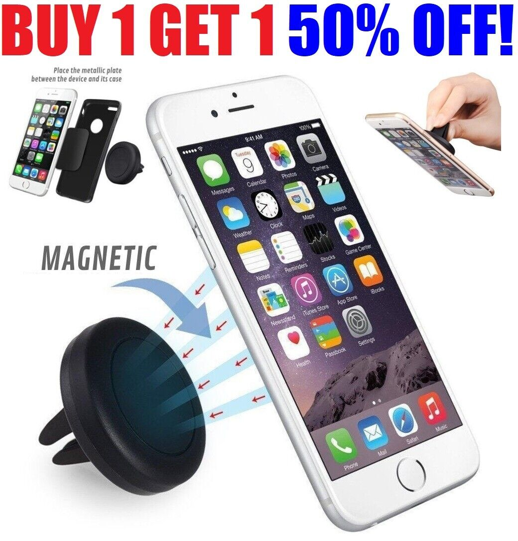 Car Holder Magnetic Phone Mount Cell Stand Universal Air Vent For cell phones Cell Phone Accessories