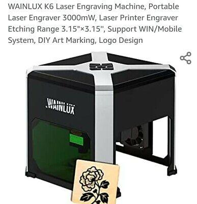 Wainlux K6 Wifi 3d Cnc Laser Engraver Engraving Machine Cutting Usa Seller
