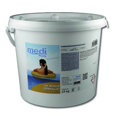 pH Senker, pH Minus Granulat, 15 KG mediPOOL