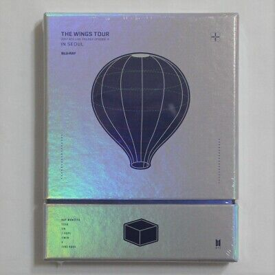 BTS 2017 Live Trilogy EPISODE III The Wings Tour In Seoul Blu-ray Factory Sealed