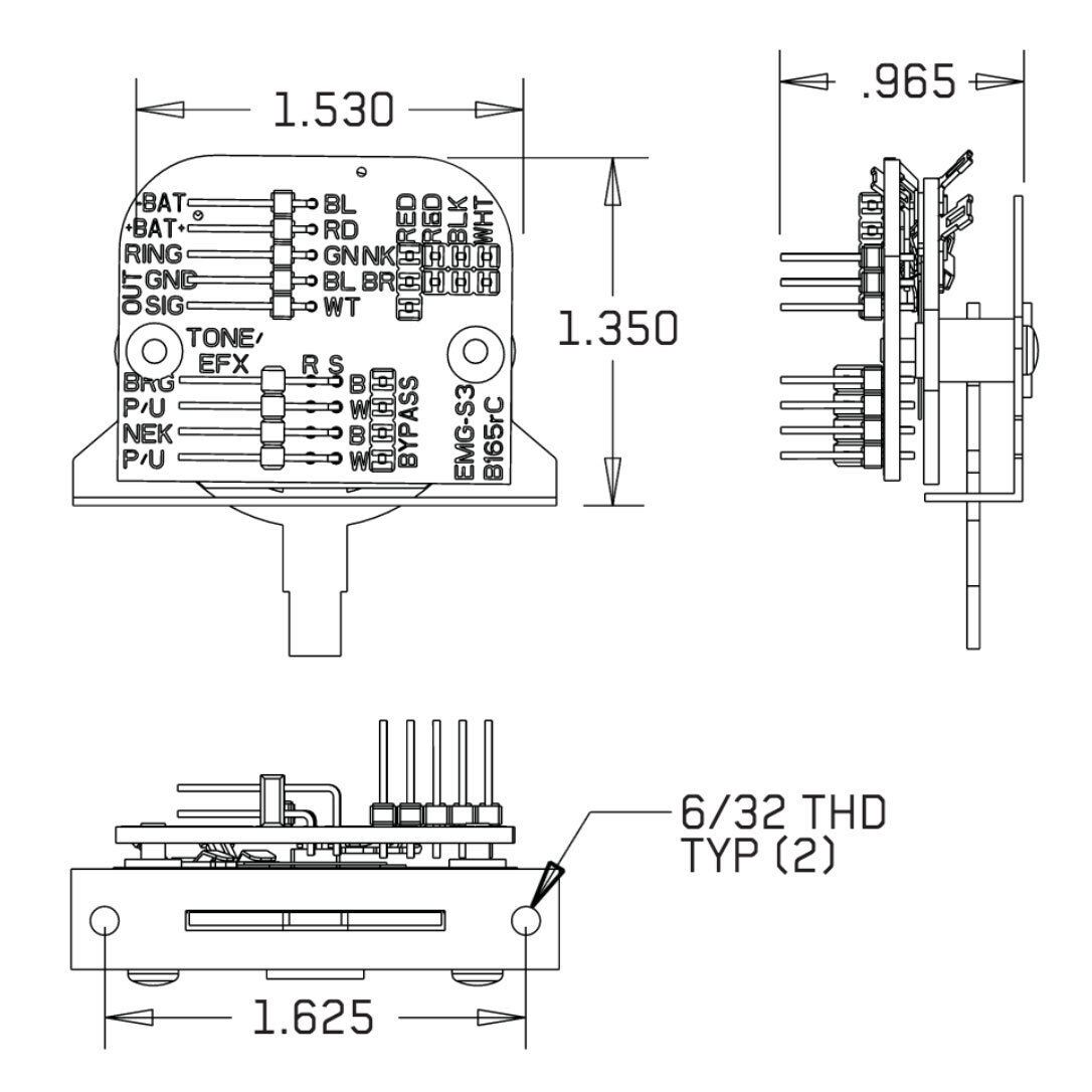 $_57?set_id=8800005007 emg 3 position strat switch solderless 3 way for active pickups w Old EMG Wiring Diagrams at bayanpartner.co