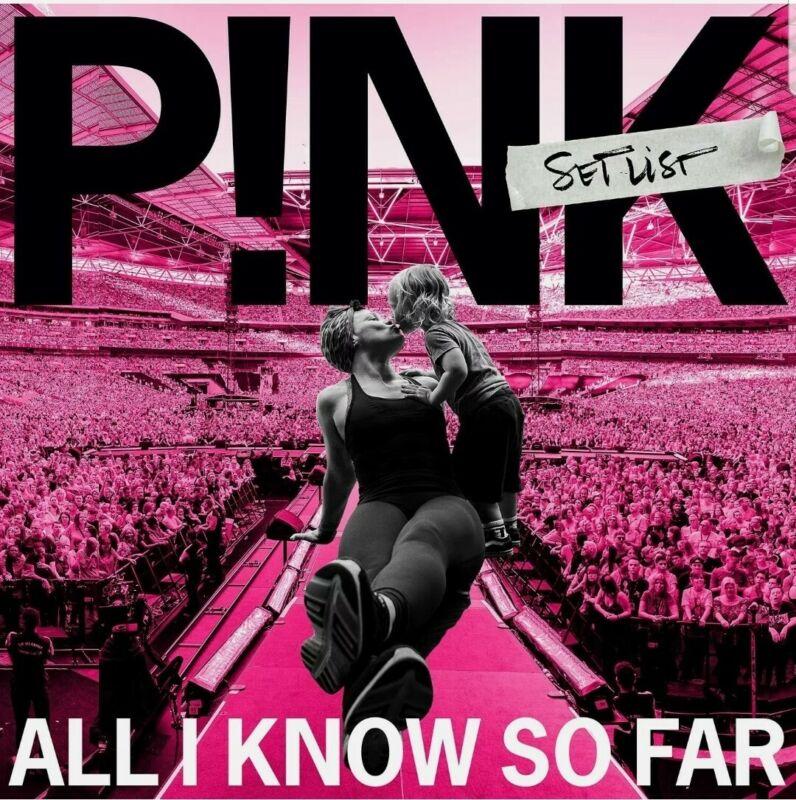 All I Know So Far: Setlist Explicit Lyrics by P!nk CD