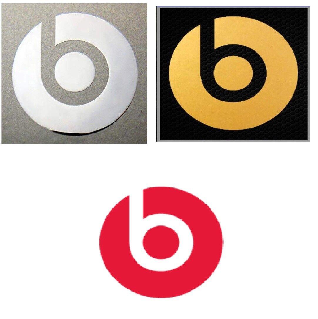 Beats Audio Sticker PC Mac Headphone Metal Decal Case Emblem