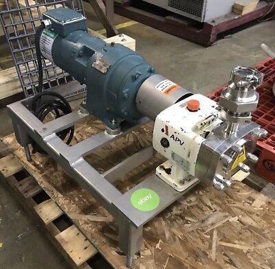 Apv Crepaco M-series Positive Displacement Rotary Pump M-1.1101.220