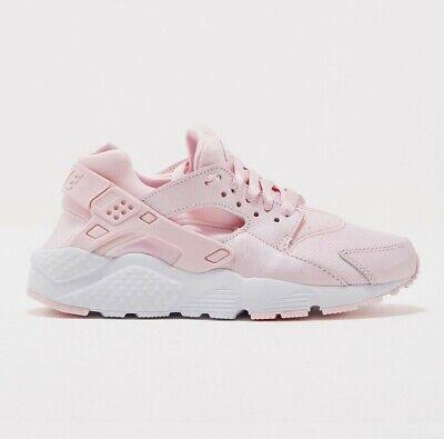 Nike Huarache Run SE GS Pink Running Shoes 904538-600 Youth size 4/5/7y