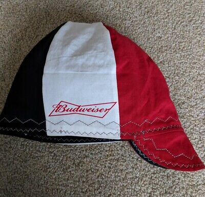Wendys Welding Hat Made With Budweiser 3 Application New