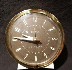 Vintage WESTCLOX BIG BEN 75-102 Mechanical Wind-Up Alarm Clock Working 1956-64