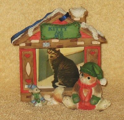 "CALICO KITTENS CHRISTMAS PHOTO FRAME "" KITTY AND ME """