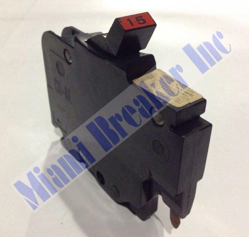 015 / NC015 FPE Breaker 1 Pole 15 Amp 120V 2 Year Warranty (PACK OF 10)