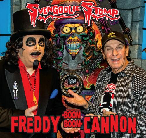 "SVENGOOLIE STOMP Freddy Cannon 2016 picture sleeve black vinyl 7"" NEW Halloween"